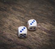 Matrices numéro trois de jeu Photographie stock