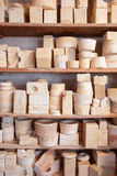 Matrices from pottery Royalty Free Stock Photography