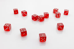 Matrices rouges Image stock