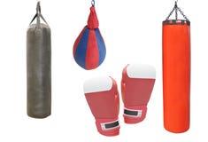 Matériel de boxe Photo stock