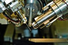 Matériel de cristallographie Photographie stock libre de droits