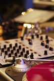 Matériel du DJ Photo stock
