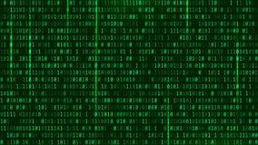 Matrijs Achtergrondstijl Computervirus en wallpa van het hakkerscherm Stock Foto's