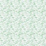 Matrijsachtergrond met de groene symbolen naadloos Stock Foto