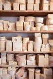 Matrijzen van aardewerk Royalty-vrije Stock Fotografie