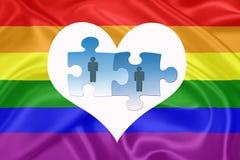 Matrimónios homossexuais Imagem de Stock Royalty Free