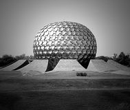 Matrimandir, Auroville, Ινδία Στοκ φωτογραφίες με δικαίωμα ελεύθερης χρήσης