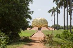 Matrimandir Golden Temple India Royalty Free Stock Photos