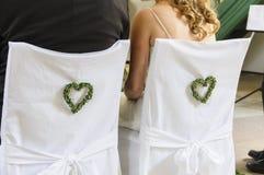 Matrimonio della chiesa Fotografia Stock
