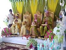 Matrimonio in Malesia Fotografia Stock Libera da Diritti