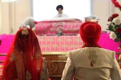 Matrimonio sikh Immagini Stock