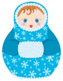 matrioshka куклы Стоковая Фотография