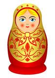 Matrioshka. Stockfoto