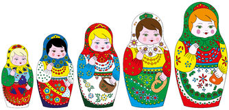 Matrioshka Images stock