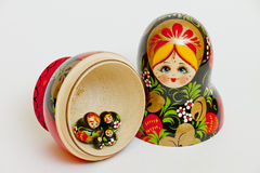 Matrioshka Obrazy Stock