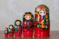Matrioshka royaltyfri bild