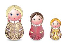 Matrioshka Royalty Free Stock Image