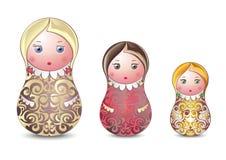 Matrioshka libre illustration