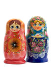 Matrioshka close up Stock Images
