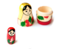 Matrioshka doll. Royalty Free Stock Photos