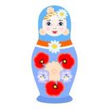 The matrioshka doll Royalty Free Stock Photos