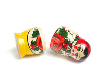 Matrioshka doll isolated Stock Photography
