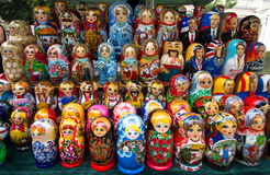 Matrioshka Dolls Stock Images