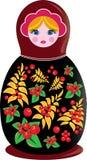 Matrioshka russian doll Stock Photo