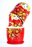 Matrioshkas. Russian culture objects dolls Royalty Free Stock Image