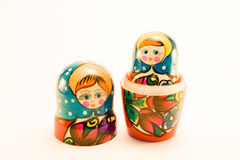 Matrioska aka Babushkas doll Royalty Free Stock Photo