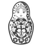 Matrioska bambola della cultura russa Illustrazione di vettore Illustrazione di Stock