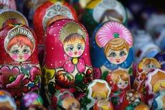 Matrioska, Rusland Stock Afbeeldingen