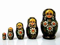 Matrioska ruso Imagen de archivo libre de regalías