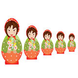Matrioshka Stock Image