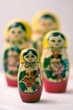 Matrioskas Stock Photography