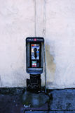 matris payphone Arkivfoto