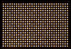 Matrisen ledde belysningapparaten vita 600 och gula dioder som skapar ljus med den variabla färgtemperaturen 3200-5500K Strömförs Arkivbilder