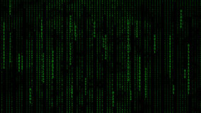 Matrix. The Matrix binary code for backgrounds Stock Images