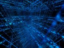 Matrix 3d Lizenzfreie Stockbilder