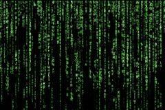 Matrix Stock Image