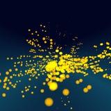 Matrix And Galaxy Stock Image