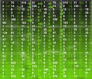 Matrix background Royalty Free Stock Images