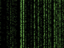 Matrix background Stock Photography