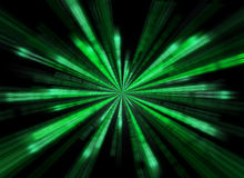 Matrix background in the form of star burst.  Stock Images