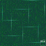 Matrix background with the green symbols Stock Photography