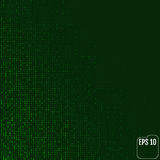 Matrix background with the green symbols. Vector. Matrix background with the green symbols Stock Photos