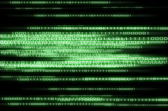 Matrix binary numbers background Royalty Free Stock Photography