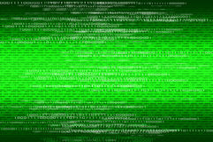 Matrix binary numbers background Stock Photography