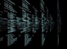 Matrix on black Royalty Free Stock Photo