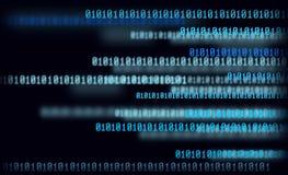 Matrix, bleu illustration libre de droits